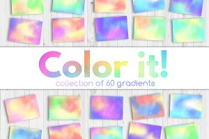 color it! :: collection of gradients