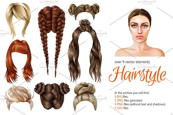 Female Hairstyle Illustration Gallery New Hairstyles Update