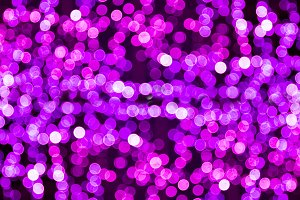 Blur bokeh purple, violet unfocused Christmas lights background