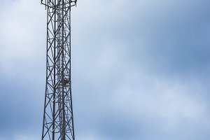 Cell Tower structure to enhance cellular network communications.