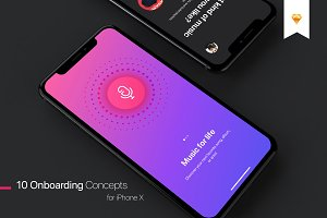 Walkthrough UI Kit for iPhone X