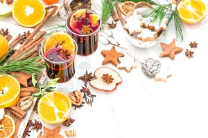 Christmas table deco Mulled wine