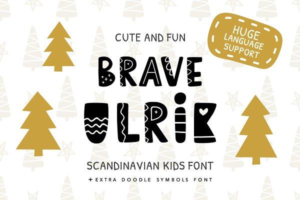Brave Ulrik Scandinavian Font