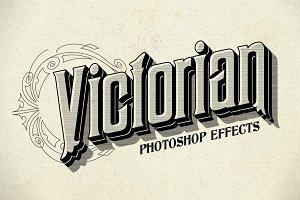 Photoshop Victorian Styles