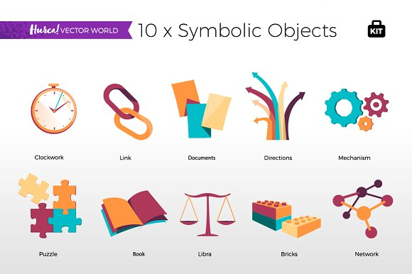 Symbolic Objects - Vector World