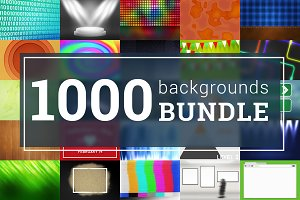 1000 Backgrounds Big Bundle