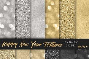 Happy New Year Textures