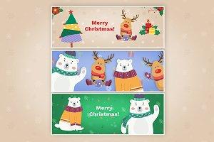 3 Christmas Facebook Cover Photos