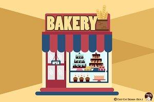 Digital Clipart Bakery