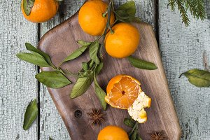 organic clementines or tangerines wi