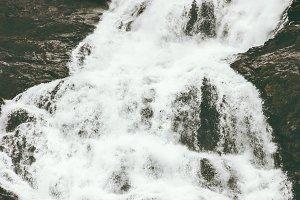 Waterfall Hjellefossen Landscape
