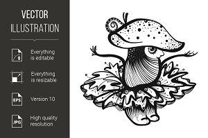 Cartoon Mushroom