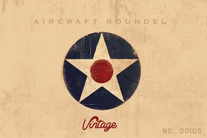 Air Force / Air Corps Logo Roundel