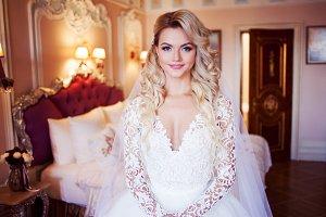 Beautiful girl bride