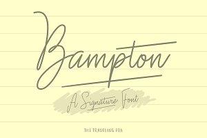 Bampton - Signature Type