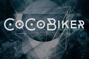 CocoBiker - 5 fonts