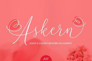 Askern - Delicate Script