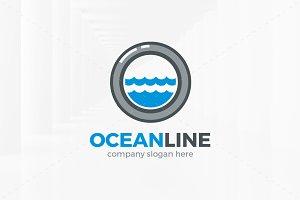 Ocean Line Logo Template