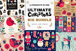 90%Off Ultimate Christmas Big Bundle