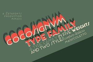 Cocosignum - 10 fonts