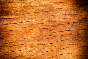 Old cracked wooden desk texture