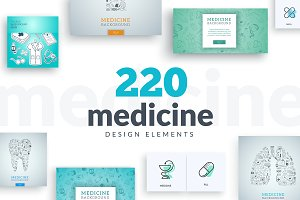 Medicine Design Elements