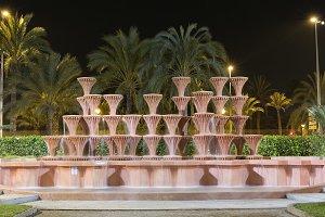 Fountain of the Glorieta in Elche