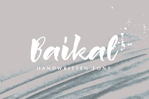 Baikal Handwritten Font with bonus