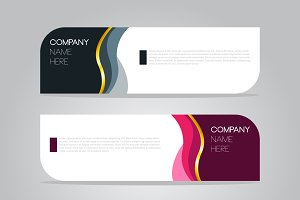 Banner for business presentation
