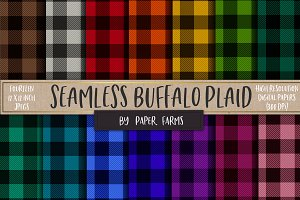 Seamless Buffalo Plaid