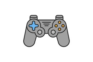 Gamepad color icon