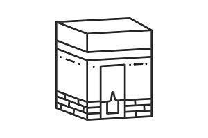 Kaaba linear icon