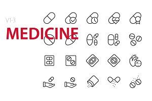 60 Medicine UI icons