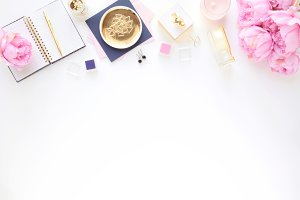Styled photo - gold & pink 9