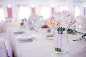 Wedding floristry.