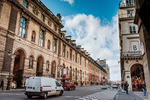 Street and buildings from Paris