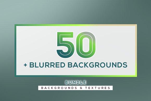 BUNDLE: 50 Blurred Backgrounds