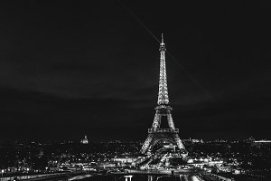 Night in Paris, Eiffel Tower