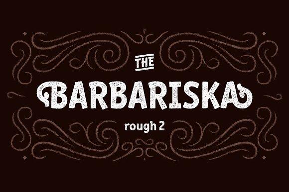 2 Barbariska Rough2 Regular Oblique