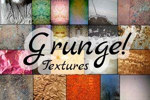 40 Grunge Textures +10 Free
