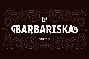 Barbariska Regular & Oblique