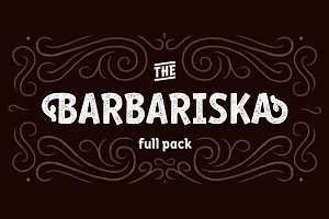 Barbariska — full pack