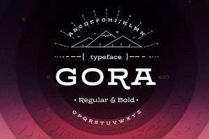 Gora – Regular & Bold