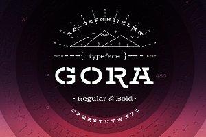 Gora Stencil – Reg & Bold