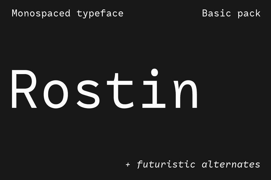 Rostin – Basic pack