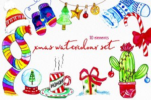 XMAS WATERCOLOUR SET