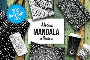 Modern mandala collection