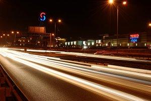 Street at night 1