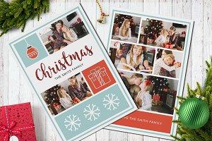 Christmas Postcard Template 5x7 V2