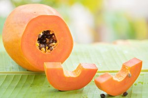 Papaya fruit juice